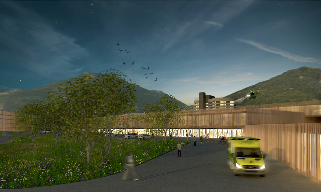2015-Mijong Architects Valais-Competition-Hospital-Sion-Switzerland