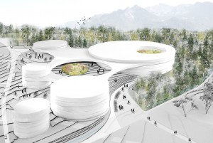 2015-Mijong Architects Valais-Competition-Urbanization-Vionnaz-Switzerland