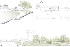 2018-Mijong Architectes-Passerelle A9-Concours-Sion-Valais-Suisse