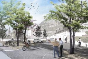 2019-Mijong-Amenagement urbain-Concours-Ardon-Valais-Suisse