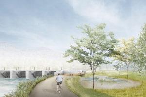 2021-Mijong-Palier hydroelectrique-Nouvelle construction-Massongex-Valais-Suisse