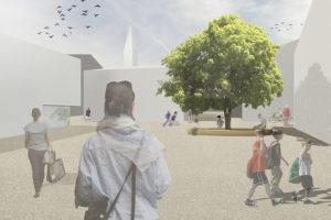 2015-Mijong Architects Valais-Competition-Village Center-Savièse-Switzerland