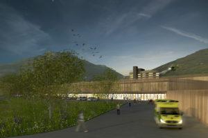 2015-Mijong Architectes Valais-Concours-Hôpital-Sion-Suisse