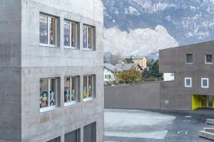 2013-Mijong Architects Valais-New construction-Nursery and school-St-Leonard-Switzerland