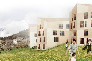 2013-Mijong Architects Valais-Competition-Housing-Chermignon d'En-Haut-Switzerland