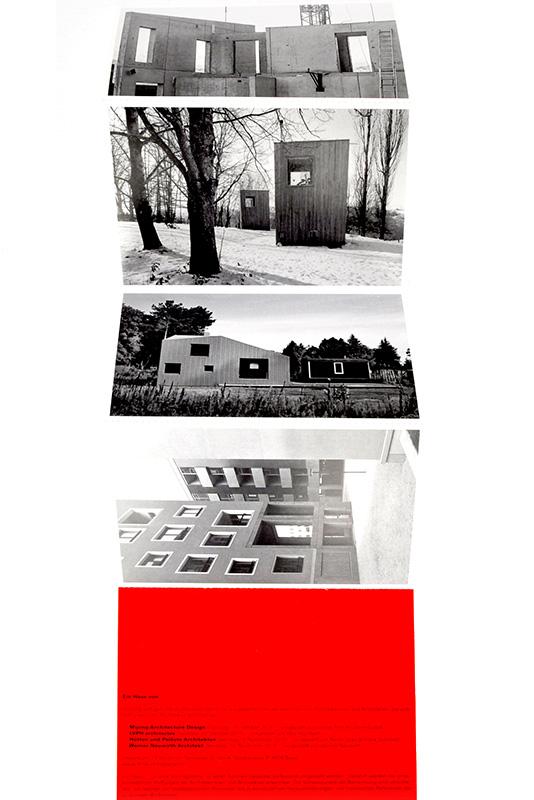 Mijong Architects Valais-Postcard FHNW