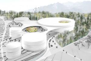 2015-Mijong Architects Valais-Competition-Urbanization-Vionnaz-Switzerland