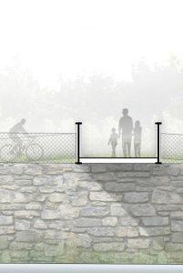 2017-Mijong Architects Valais-Competition-Footbridge-St-Leonard-Switzerland